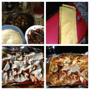 Lasagna begins with good preparation